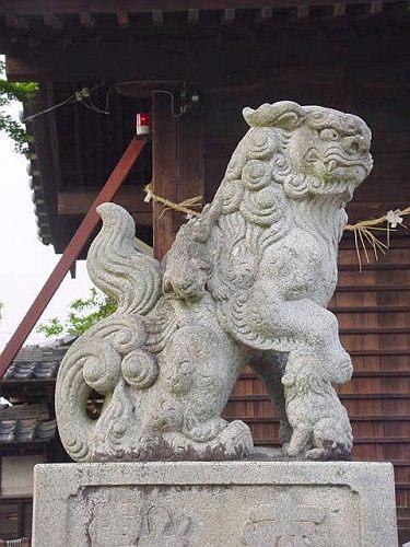【昭和・戦前】 熊野神社 愛知県西尾市