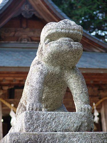 【建て年号不明】 七久里神社 長野県飯田市