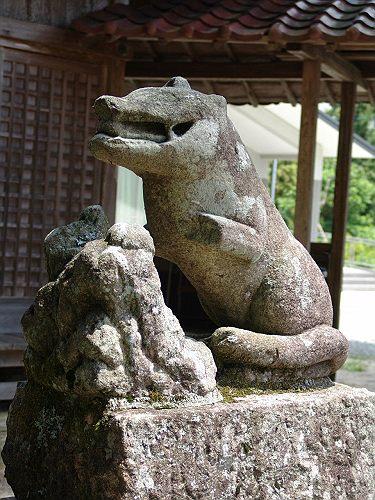 【建て年号不明】 十二所神社 愛知県作手村