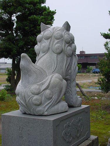 【中国製狛犬】
