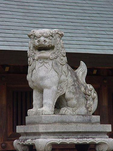 【建て年号不明】 明治川神社 愛知県安城市